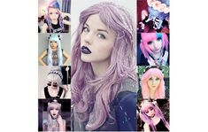 Pastel Goth, synonymous for hipster goth pertains to chic fashioned, pastel haired people who take vintage styled pictures with a modern twists, and their pictures posted more particularly in a famous social networking site Tumblr. Often criticized as they don't listen much to gothic music or know any of the goth movements and elements, pastel goths still wear goth inspired makeup like dark lips and smokey eyes.
