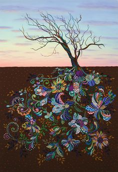 Tree of Life Art :: The Journey by Erika Pochybova