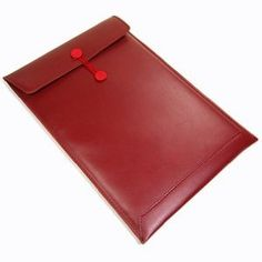 """Cosmos PU/synthetic/faux leather 11.6"""" 11 inch Red Laptop"""