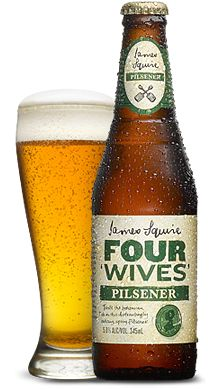 Four Wives 'Pilsener' - James Squire Craft Beer