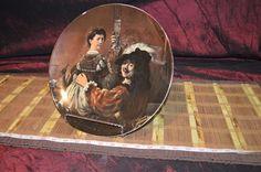 Wiuterling Schwarzenbach Bavaria Germany Decorative Rembrandt Porcelain Plate