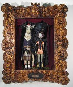 Elizabeth McGrath's tiny dioramas