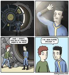 Returning to the surface #Fallout4