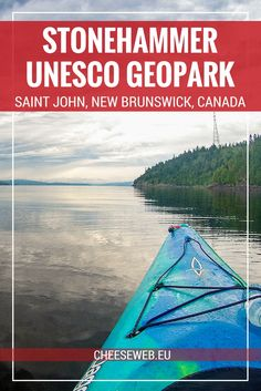 We take a kayak tour of Dominion Park, part of the Stonehammer Geopark in Saint John, New Brunswick, to see stromatolites, with Go Fundy Events. Slow Travel, Travel Tips, Usa Travel, Travel Advice, Travel Guides, Family Travel, Saint John New Brunswick, Canada Destinations, Kayak Adventures