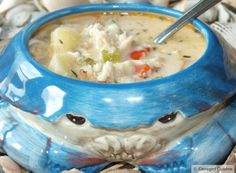 Crab, Bacon, and Parsnip Chowder from Cavegirl Cuisine