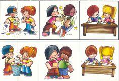 Valores en la escuela Flipped Classroom, Classroom Rules, Classroom Decor, Vbs Crafts, Bible Crafts, Preschool Birthday, Busy Book, Social Skills, Special Education