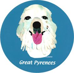 マイ @Behance プロジェクトを見る : 「019 | Great Pyrenees」 https://www.behance.net/gallery/42194197/019-Great-Pyrenees