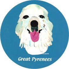 マイ @Behance プロジェクトを見る : 「019 | Great Pyrenees」 https://www.behance.net/gallery/42194197/019-Great-Pyrenees
