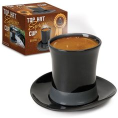 Top Hat Espresso Cup and Saucer $11.95