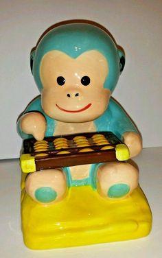 Monkey Piggy Bank Wells Fargo Collectable Lunar 2016 Rare Year Of Monkey Cute  #WellsFargo
