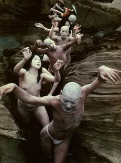 Butoh is a type of Japanese dance performance where images and ideas are…