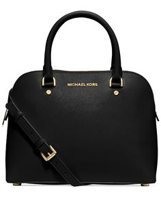 MICHAEL Michael Kors Cindy Medium Dome Satchel - Handbags & Accessories - Macy's