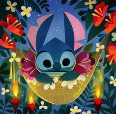 Stitch by Joey Chou Gif Disney, Disney Nerd, Disney Films, Disney And Dreamworks, Disney Love, Disney Magic, Disney Pixar, Pinocchio Disney, Disney Fanatic
