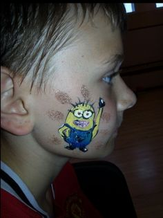 Face painting #face painting #despicable me