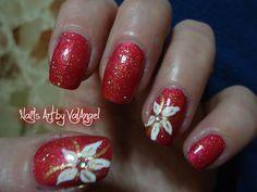 Holiday Nail Designs, Colorful Nail Designs, Nail Art Designs, Nails Design, Xmas Nails, Holiday Nails, Red Nails, Cute Nails, Pretty Nails