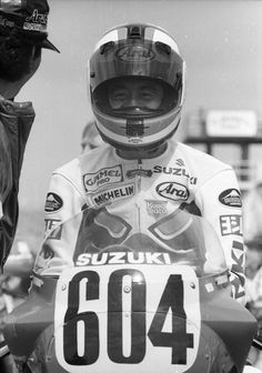 Daytona 1987 Satoshi Tsujimoto