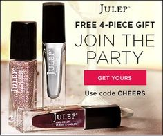 Last chance for free Julep welcome boxes. All offers expire Thursday, December 18.