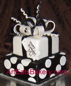 Art Eats Bakery custom fondant wedding and birthday cake designs, pictures and recipes
