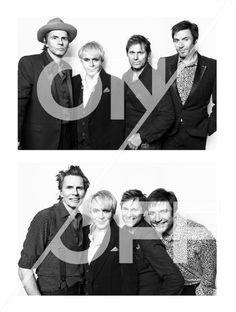 Great portrait of Duran Duran taken before and after their War Child UK gig at Wilton's Music Hall last month- continue to support this great cause by getting a copy of the pic... Learn more here: http://bit.ly/1reMBiM
