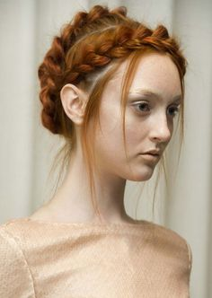 Learn how to create these multiple braids for a vintage-inspired bridal look.