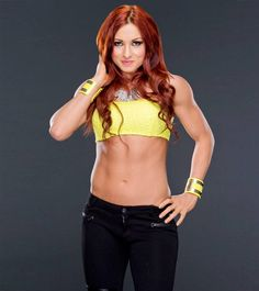 Beautiful Women of Wrestling: WWE NXT Diva Becky Lynch