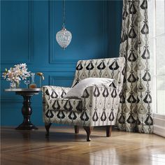 Marrakech upholstery fabric by Charles Parsons Interiors
