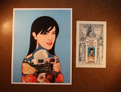 Starting at $10 Phoebe Cates with Gremlin Tattoo Limited Edition Print | eBay