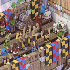 Quidditch: Through the Ages! on Behance