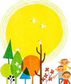 Yamauchi Kazuaki Art And Illustration, Pattern Illustration, Love Images, Mellow Yellow, Collage Art, Illustrators, Wall Art Prints, Design Art, Graphic Design