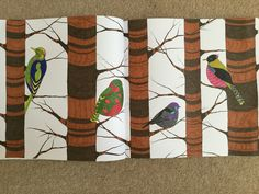 Birds in trees - Animal Kingdom Book, Millie Marotta