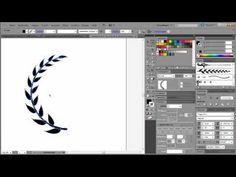 Laurel wreath Illustrator tutorial