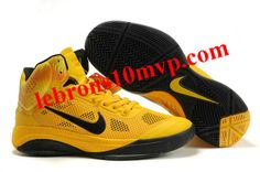 Nike Zoom Hyperfuse XDR 2010 Shoes Yellow/Black