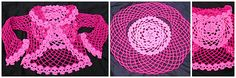 Ravelry: I Heart Skulls Circle Vest or Cardigan pattern by Spider Mambo