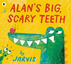 Downloadable Alan's Big, Scary Teeth activity sheets