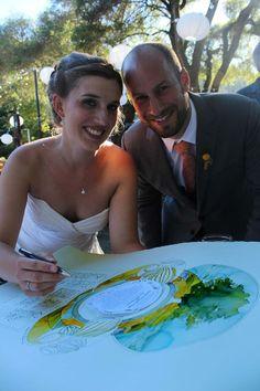 The Painted Ketubah - Jewish Wedding Blog www.thepaintedketubah.com