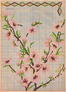 alinhavando o tempo: Flores em gráficos antigos