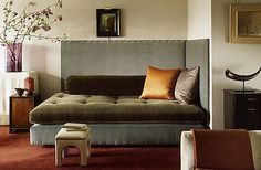 Alcove beds are a fabulous concept for saving space in your home design. They are inviting and fun and creates a very intimate space to curl up and enjoy! Credit: Eric Piasecki