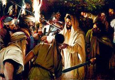 Jesus arrested in Garden of Gethsemane. Christ Tomb, Jesus Christ, Agony In The Garden, Who Is Jesus, Easter Story, Holy Week, Persecution, Betrayal