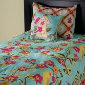 Found it at Wayfair - Birds in Paradise  3 Piece Comforter Set. They make it in a Queen size too *-*