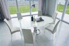 Elegant Runde Esstische Als Design Highlight: Modern Und Ausziehbar