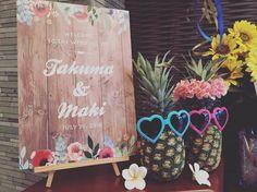いいね!32件、コメント1件 ― KOTOWA京都八坂さん(@kotowakyotoyasaka)のInstagramアカウント: 「とっても夏らしいウェルカムグッズ!本物のパイナップルを使ったアイデアはゲストの方にも大好評間違いなし♡ウェルカムスペースにこだわれば、ゲストの方のワクワク感も更にアップするはずです!…」