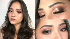 Each and every Woman desires peachy dewy pores and skin, beautiful hair and flawless make up. Make Up For Graduation, Graduation Look, Graduation Makeup, Hooded Eye Makeup Tutorial, Glitter Makeup Tutorial, Natural Prom Makeup, Wedding Eye Makeup, Dramatic Eye Makeup, Eye Makeup Steps