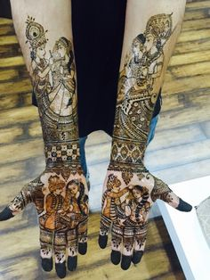 111 Latest Bridal Mehndi Designs That Will Leave you Breathless - Mehndi designs - Hand Henna Designs Latest Bridal Mehndi Designs, Unique Mehndi Designs, Dulhan Mehndi Designs, Beautiful Henna Designs, Mehndi Designs For Hands, Mehandi Designs, Beautiful Mehndi, Beautiful Tattoos, Marwari Mehndi Design