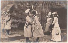 Kaiser Wilhelm II 1913 Uniform Pickelhaube Königsberg Kronprinz Hussar Offizier