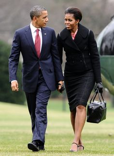 Happy Fashion Forward Friday! How ravishing the glance.   A Look Back At Michelle Obama's Campaign Trail Fashion