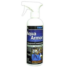 Aqua Armor Fabric Waterproofing Spray for Tent  Gear 16 Oz by Trek ** More info could be found at the image url.