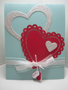 Goin' Over The Edge: Creating hearts within hearts for valentine fun
