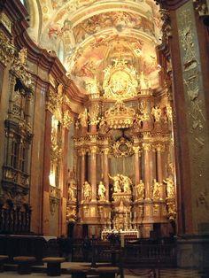 Jakob Prandtauer. Benedictine Abbey. Melk, Austria #architecture #prandtauer