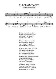 partition guitare en chantant