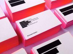 IS Creative Studio / business cards by IS Creative Studio , via Behance